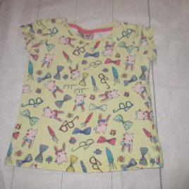 Next yellow bunny T-shirt 2-3 years