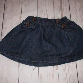 Next denim skirt 2-3 years