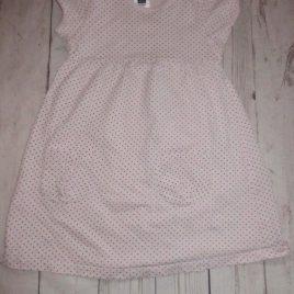 Pink spotty dress 3-4 years