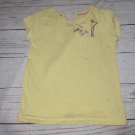 Yellow giraffe T-shirt 2-3 years
